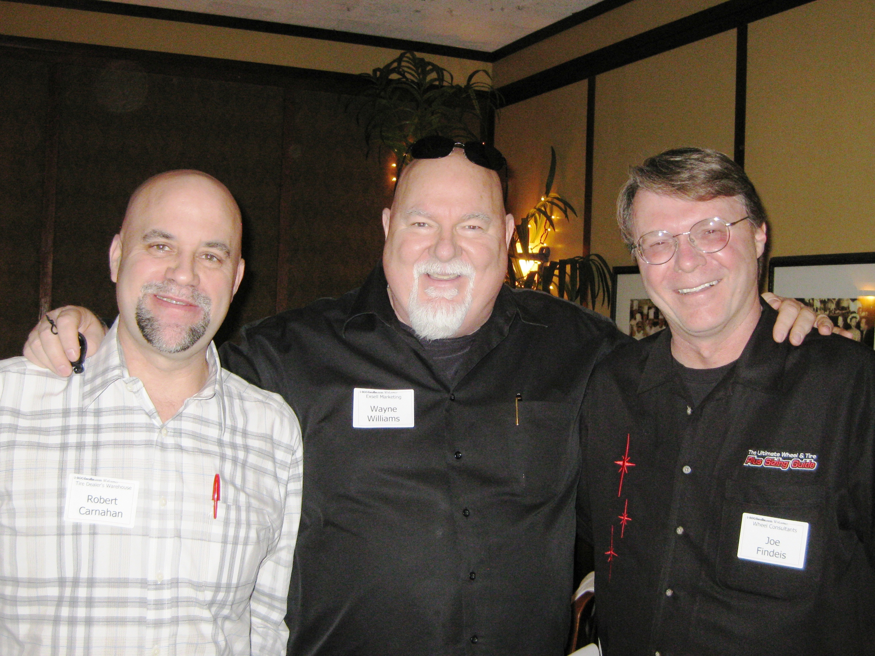 Heavy hitters attend 1-800EveryRim.com luncheon