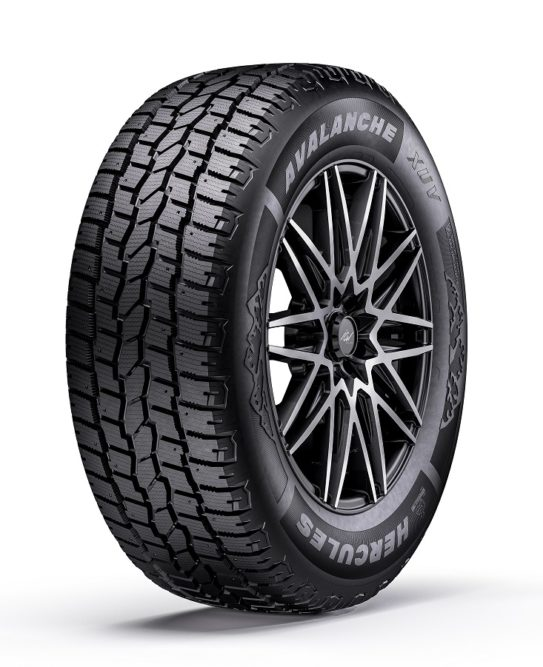 Hercules Adds Avalanche XUV Winter Tire for CUVs and SUVs