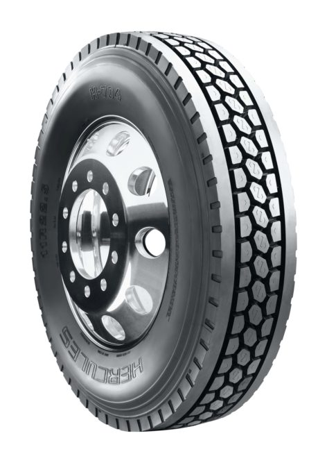 Hercules introduces the H-704 drive tire