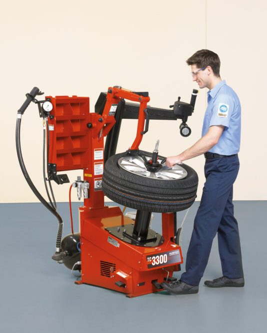Hunter adds to tire changer line with TC3300