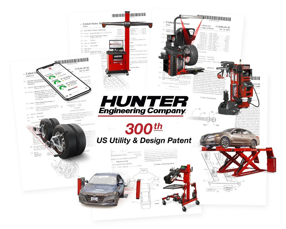 Hunter Engineering Earns 300th Patent