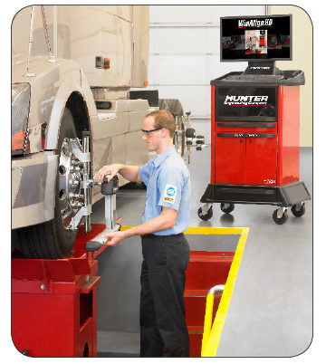 Hunter introduces faster heavy-duty alignments