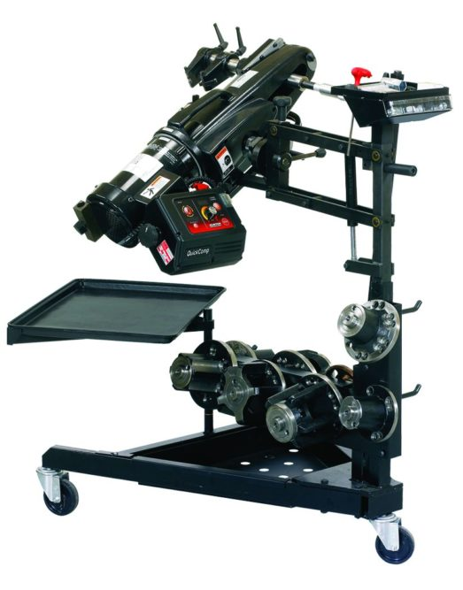 Hunter's QuickComp Brake Lathe is Now Made in America