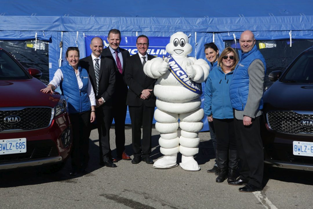 In Canada, Kia dealerships will sell Michelin tires