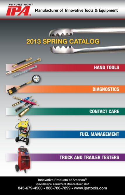 IPA Spring catalog includes five new products