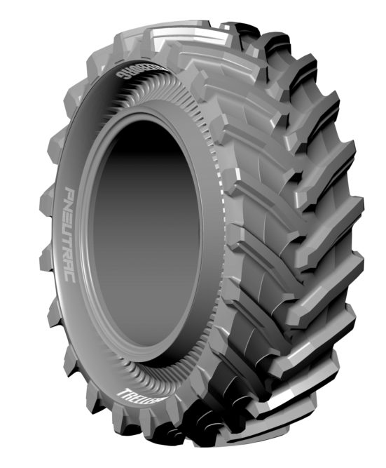 Is It a Tire or a Track? Trelleborg's PneuTrac Is Both
