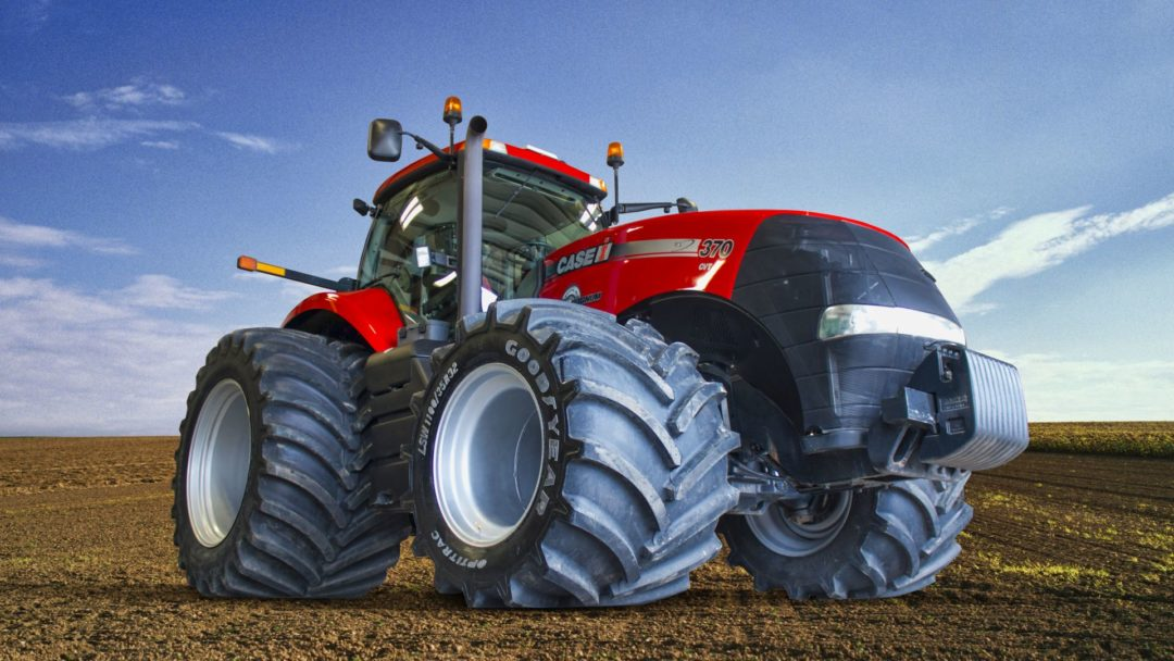 Is This the Largest Super Singles Setup for MFWD Tractors Ever?