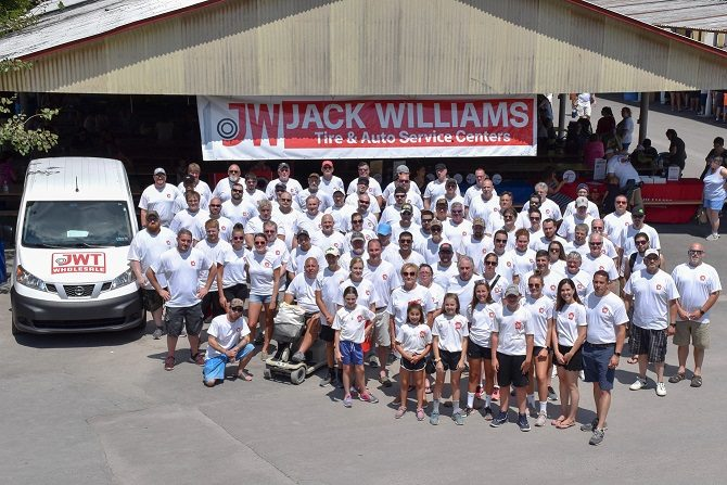 Jack Williams Tire Marks 90 Years at Company Picnic