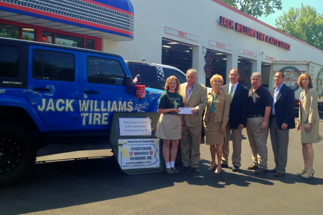 Jack Williams Tire supports wounded veterans