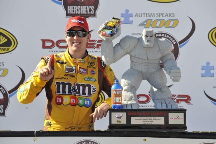 Joe Gibbs racing streak continues with Kyle Busch win at Dover