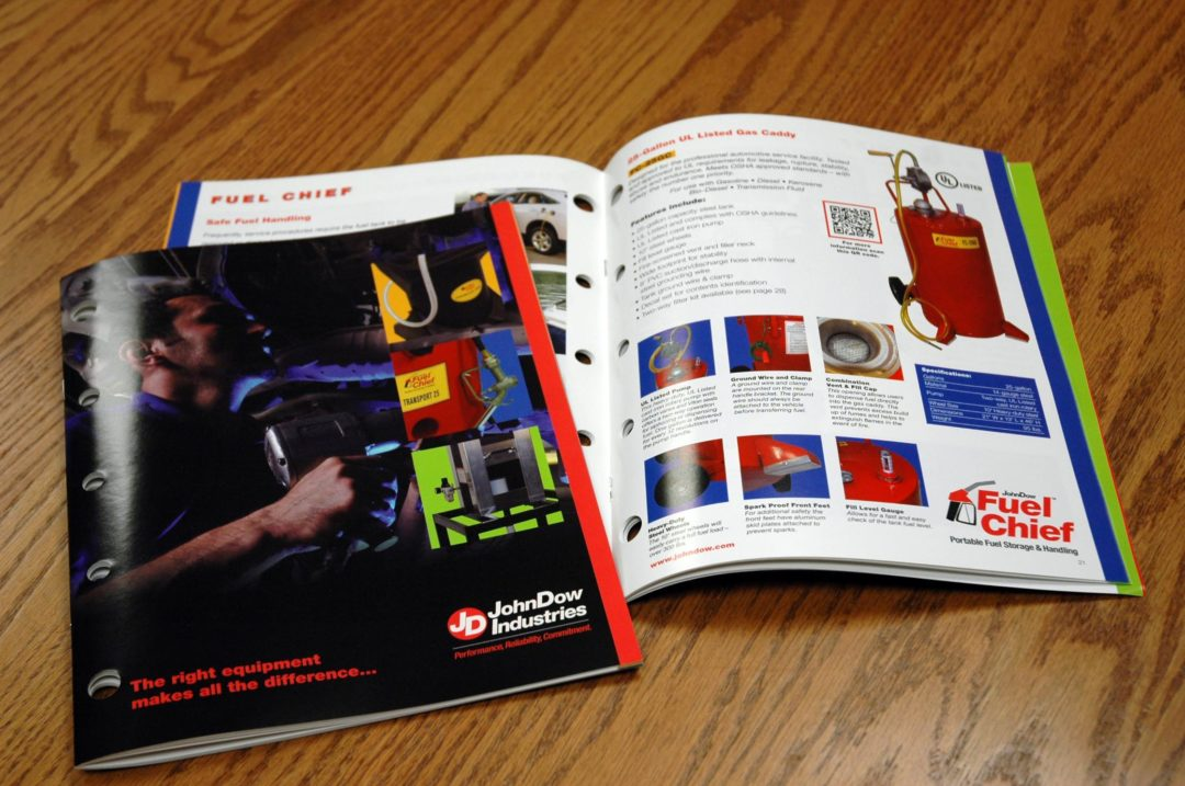 JohnDow highlights products in 3-in-1 catalog