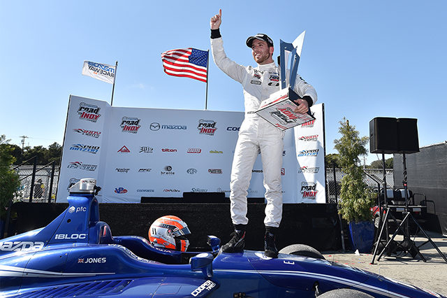Jones Secures Indy Lights Title As Veach Wins At Mazda Raceway