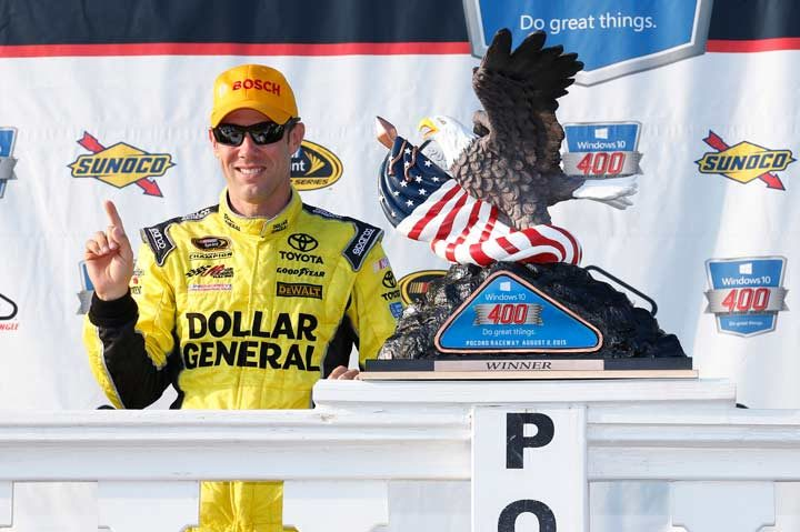 Kenseth win at Pocono earns Bosch Aftermarket NA contribution
