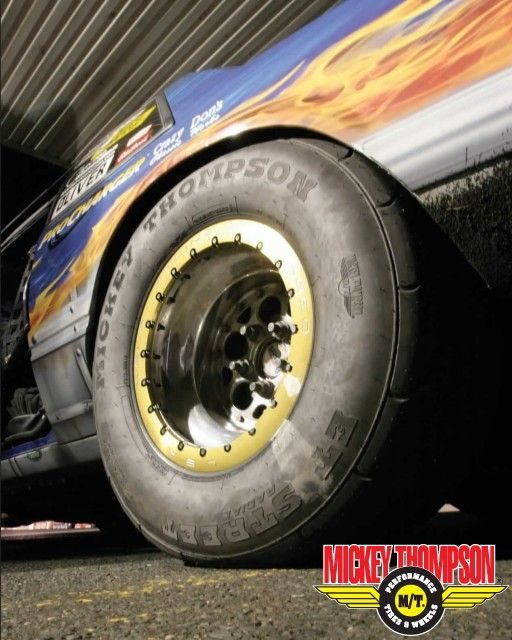 Kind of a 'drag': Mickey Thompson's latest promo