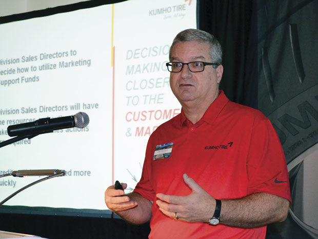 Kumho Adds Capacity for LT Tires; Discusses New Factory, Marketing and Branding