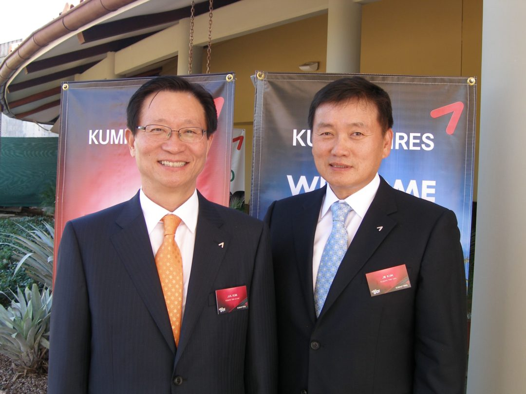 Kumho CEOs see better fill rates in 2012