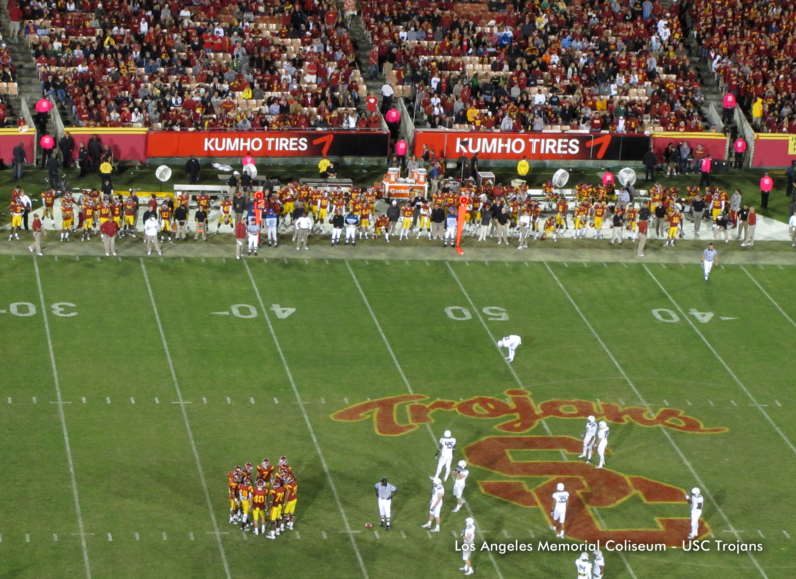 Kumho is official tire of USC Athletics
