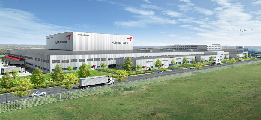 Kumho plan for U.S. plant is back on track