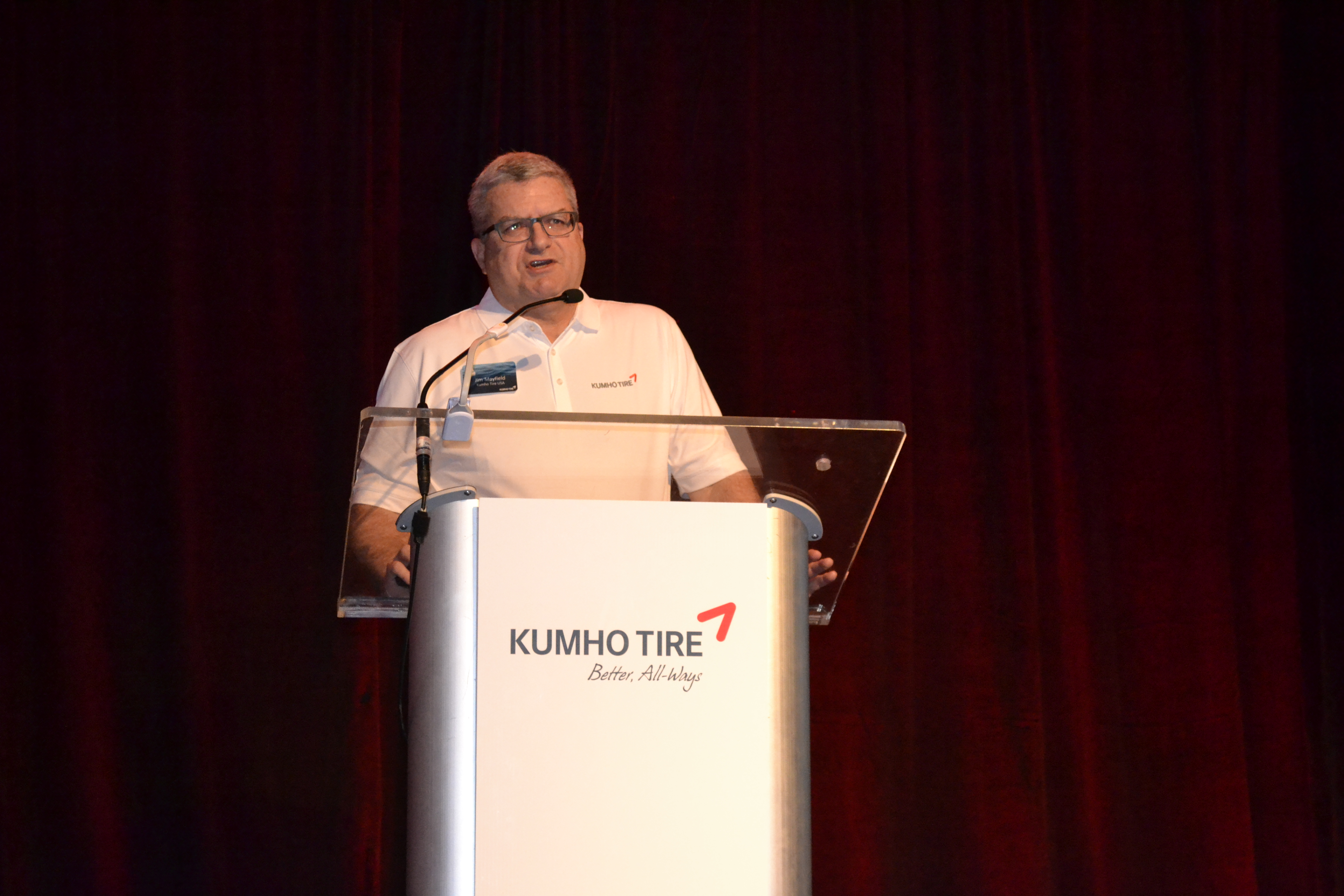 Kumho Promises Dealers a Stable New Year