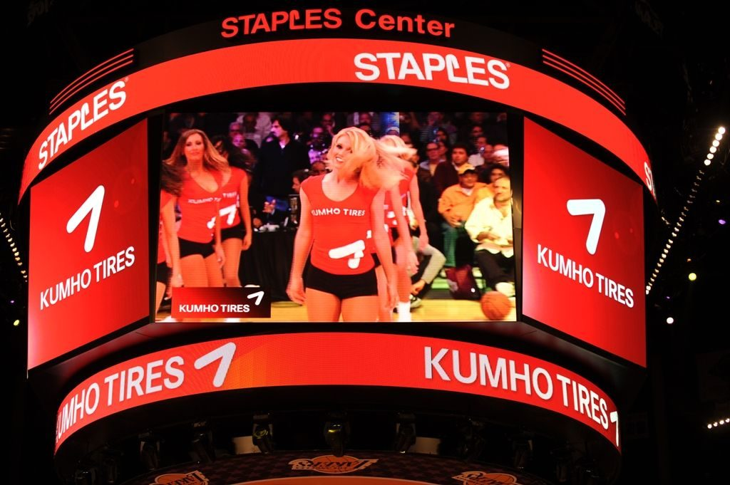 Kumho re-ups with the Lakers and Heat