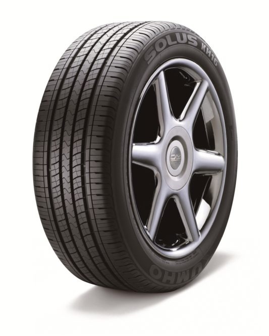 Kumho Solus KH16 tops touring tire study