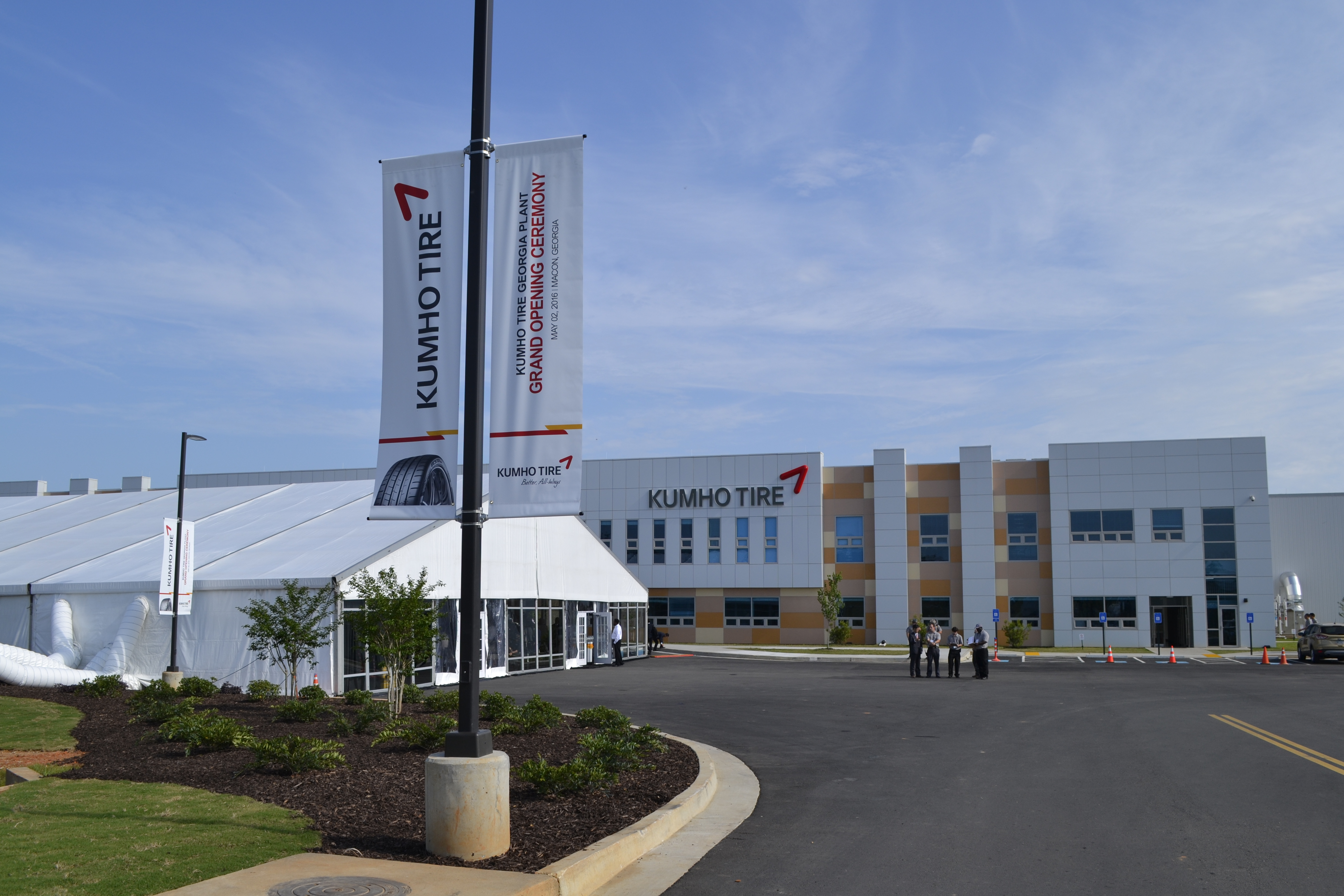 Kumho Tire Production Begins in Georgia