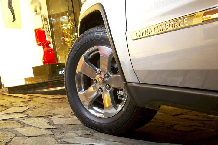 Kumho to supply tires for Jeep Grand Cherokee