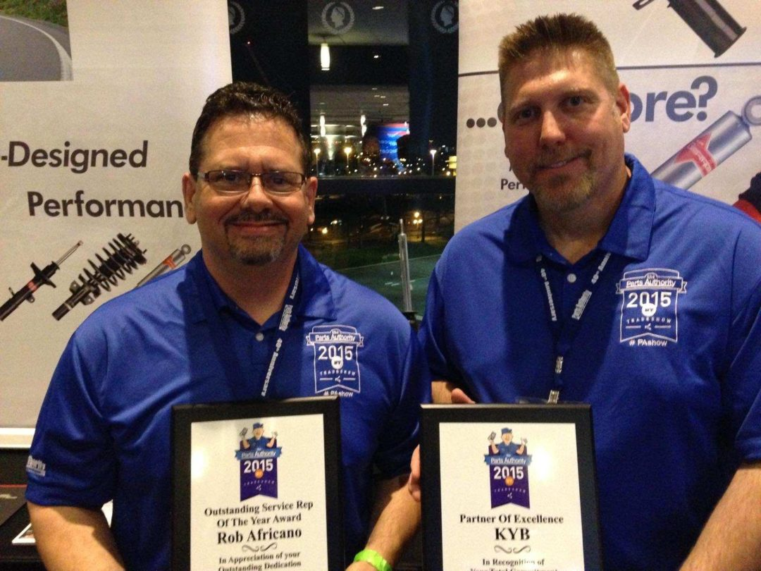 KYB receives Parts Authority honors