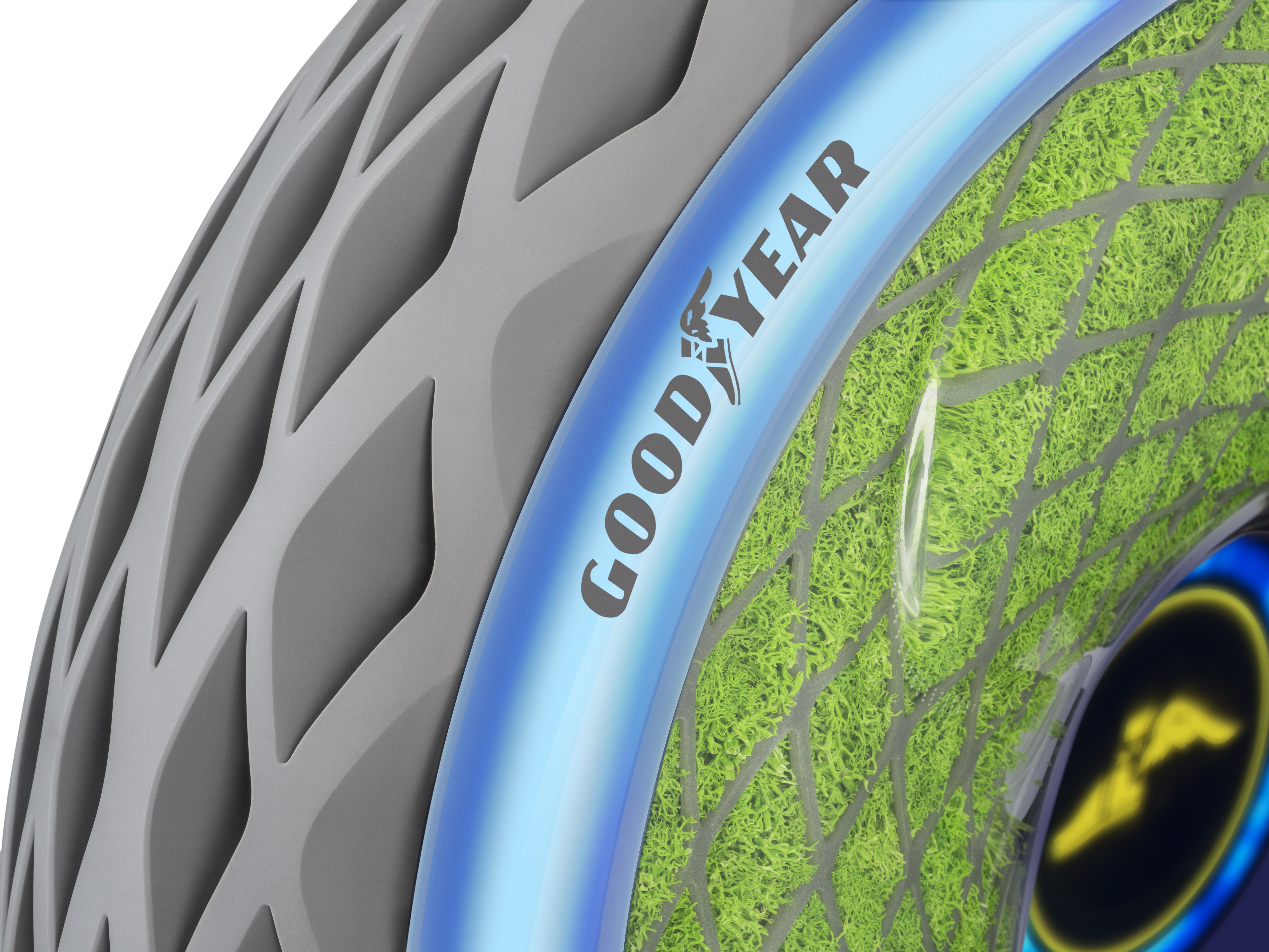 Latest Goodyear Concept Tire Grows Moss and Cleans the Air