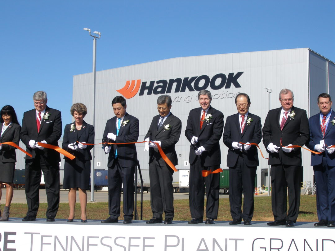 Let the Celebration of Hankook's First U.S. Tire Manufacturing Plant Begin!