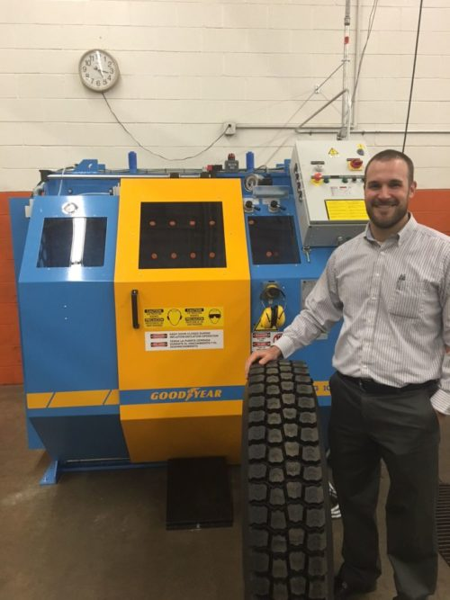 Lewis General Tires Converts to Goodyear Retread System