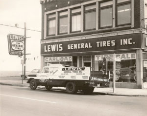 Lewis General Tires is almost as old as the General brand