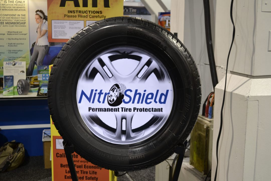 Lifetime tire protection with NitroFill NitroShield