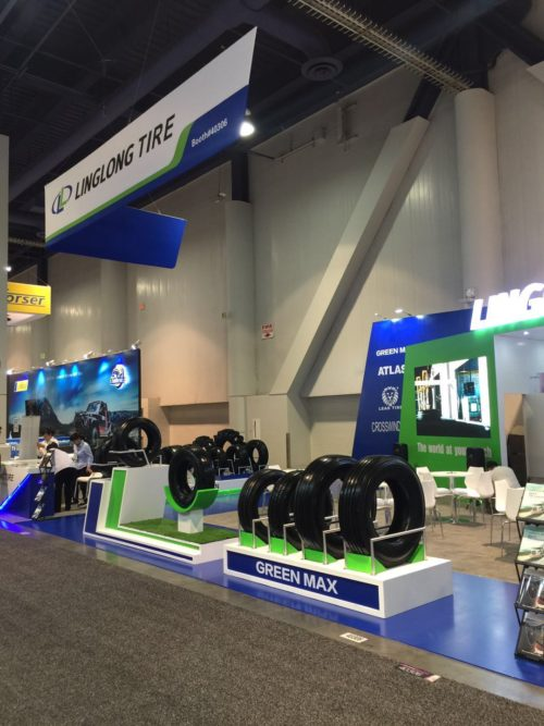 Linglong Promotes Eco-Friendly Tires at the SEMA Show