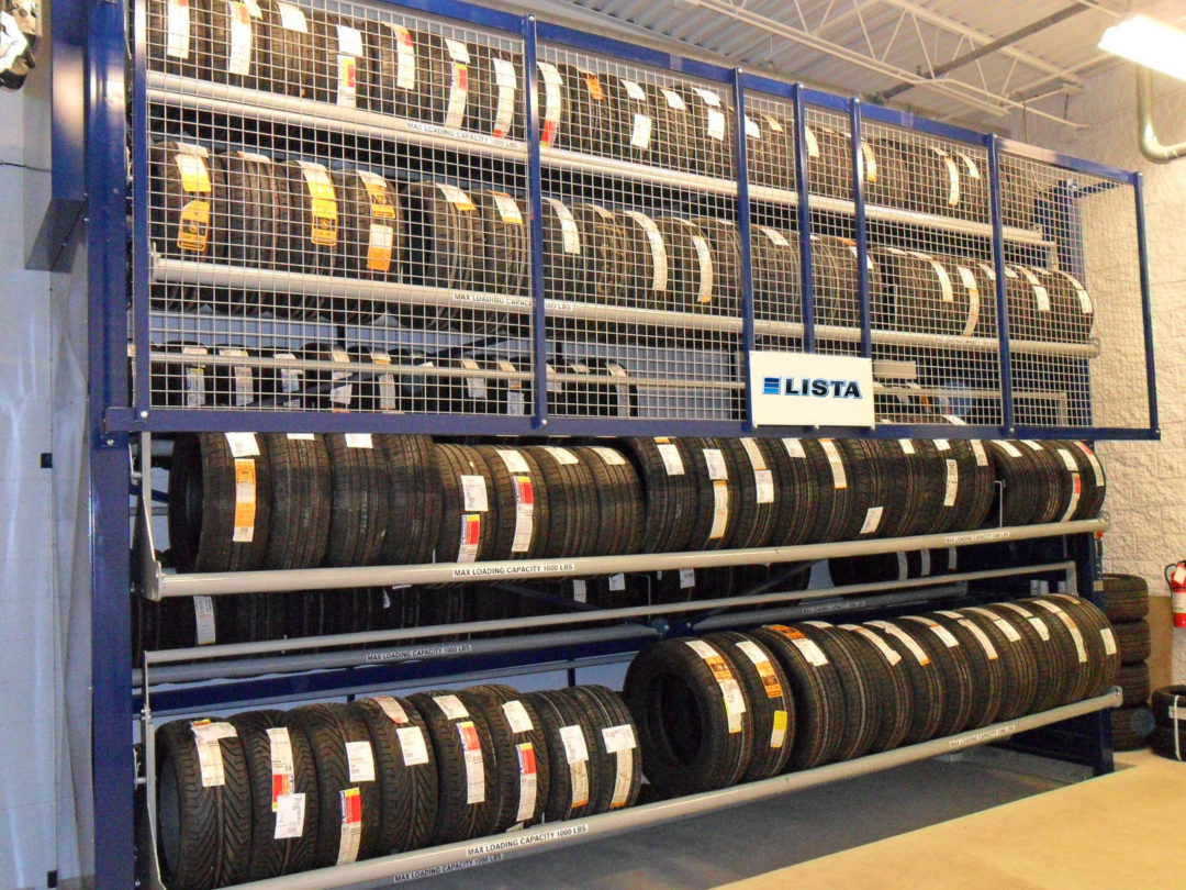 Lista Tire Carousel Holds 352 Tires