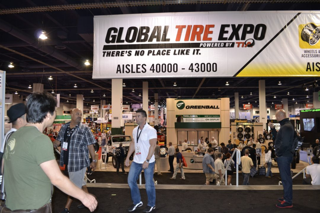 Live (photos) from the Global Tire Expo!