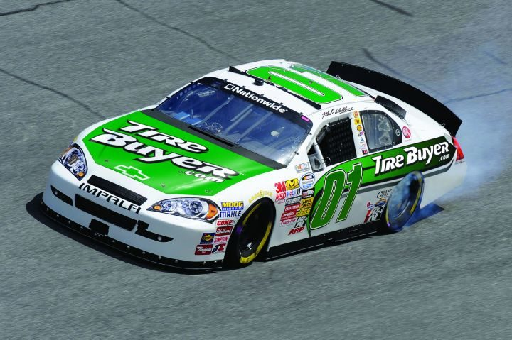 Look for ATD'S TireBuyer.com logo on the No. 01 car at Charlotte Motor Speedway
