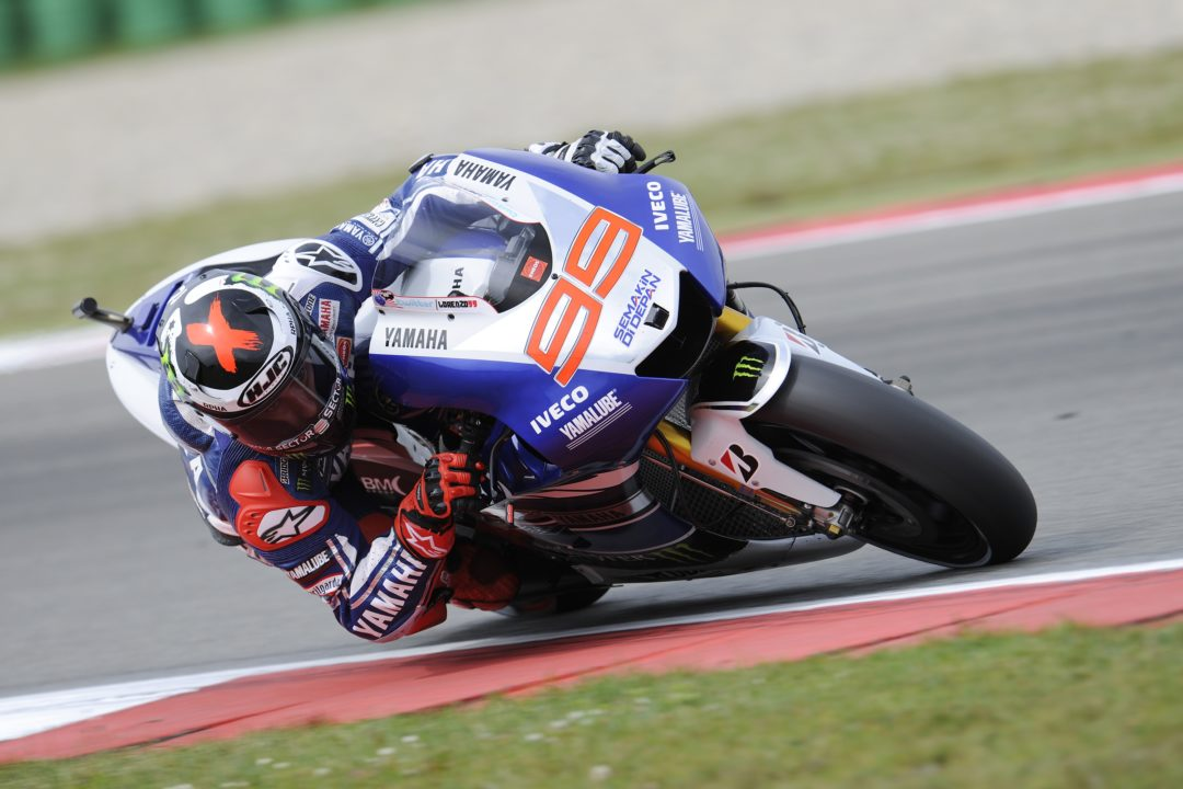Lorenzo crashes after topping Thursday practice at Assen