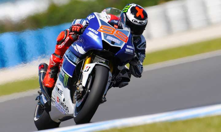 Lorenzo leads Friday practice at Phillip Island