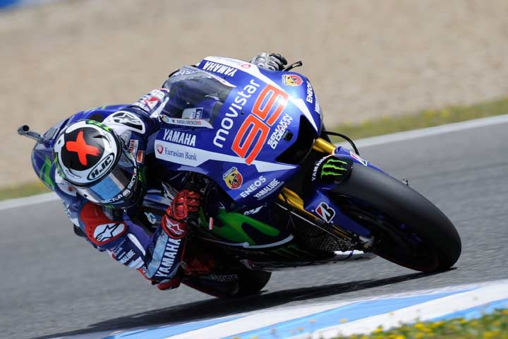 Lorenzo leads the way in sizzling Friday MotoGP practice at Jerez
