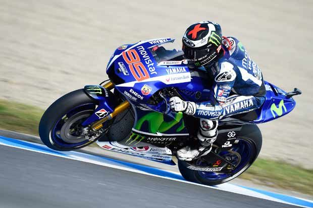 Lorenzo sets formidable pace in Japanese MotoGP practice