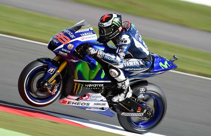 Lorenzo sets the benchmark in British Grand Prix Free Practice