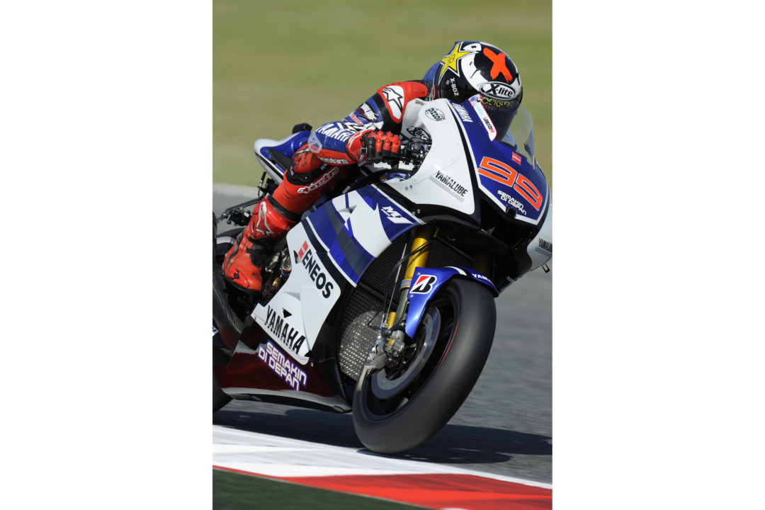 Lorenzo shines in sun-soaked Friday practice