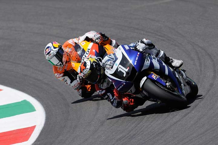 Lorenzo storms to victory in thrilling Italian Grand Prix