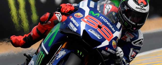 Lorenzo Takes First Place In Free Practice