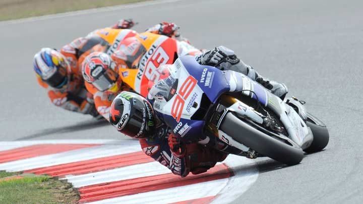 Lorenzo the victor at Silverstone