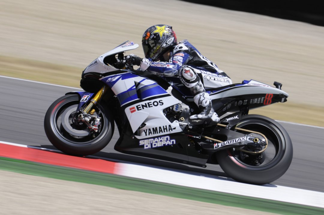 Lorenzo tops both sessions in Mugello Friday practice