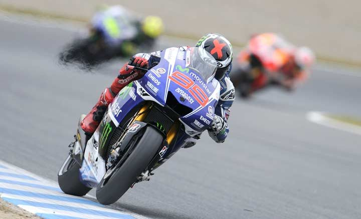Lorenzo wins the day and Marquez the MotoGP championship at Motegi