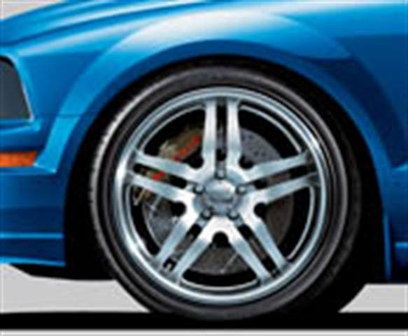 LOWER RIDES EQUAL HIGHER SALES: Wheel/tire packages go hand-in-hand with performance suspension systems