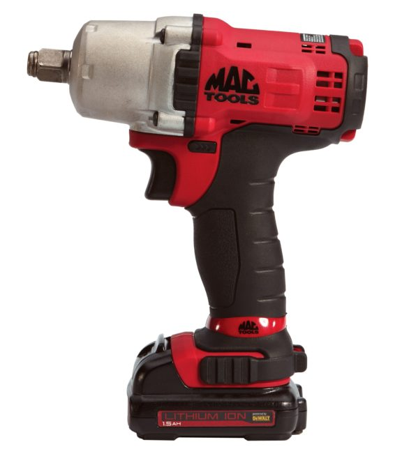 Mac Tools adds ½-inch cordless impact wrench